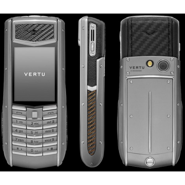 Vertu Ascent Ti Carbon Fibre & Aluminium Grip