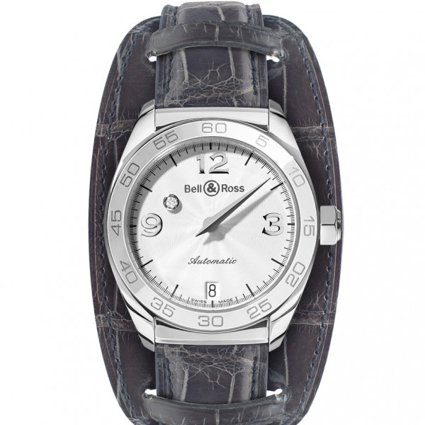 Bell & Ross watches MYSTERY DIAMOND WHITE 60 MIN ENGRAVING