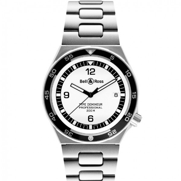 Bell & Ross watches TYPE DEMINEUR WHITE