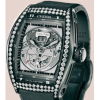 Cvstos Challenge Twin-Time Black Steel Diamond