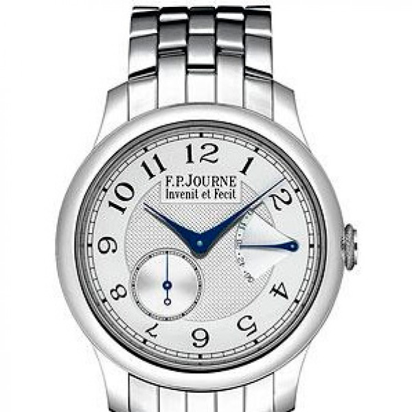 F.P.Journe Chronometre Souveraine (Pt / Silver / Pt)