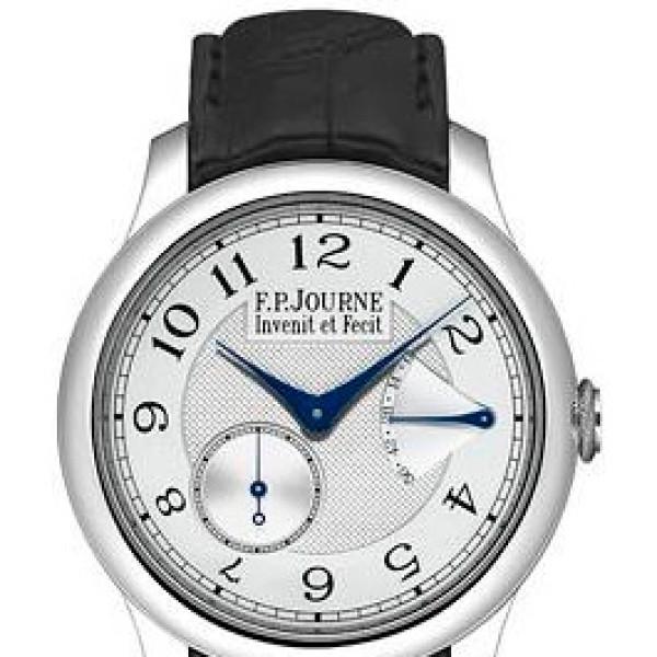 F.P.Journe Chronometre Souveraine (Pt / Silver / Leather)