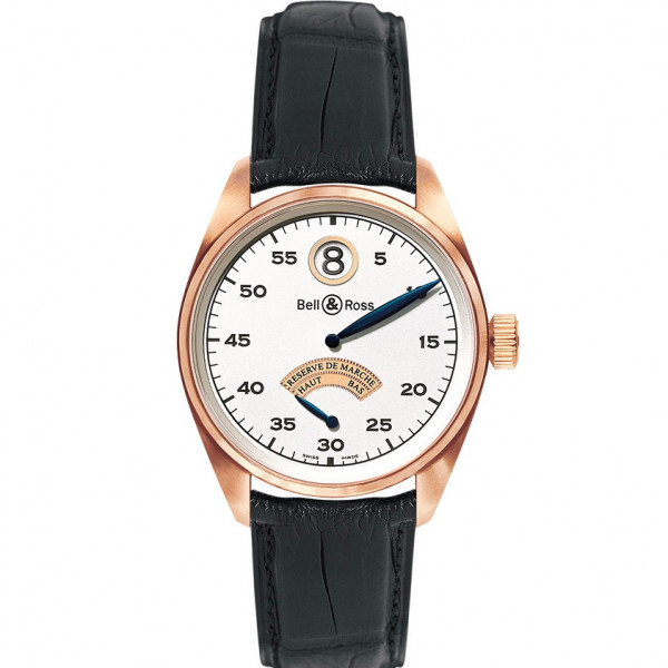 Bell & Ross watches VINTAGE 123 PINK GOLD JUMPING HOUR
