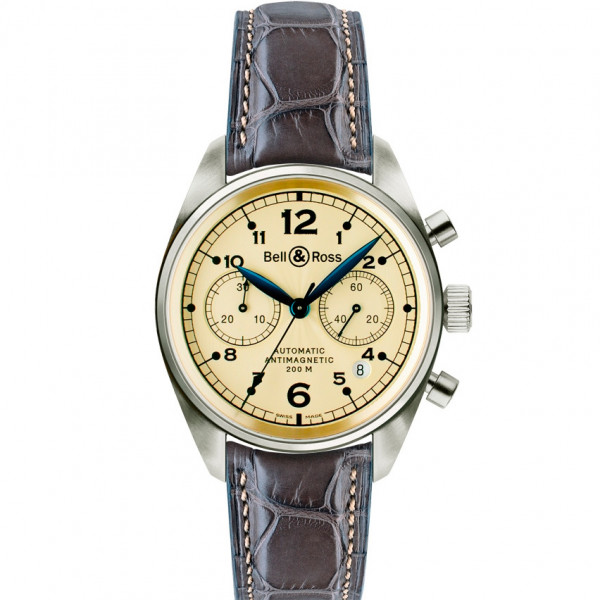 Bell & Ross watches VINTAGE 126 GOLD IVORY