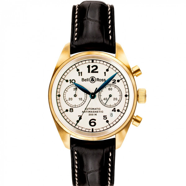 Bell & Ross watches VINTAGE 126 GOLD PEARL