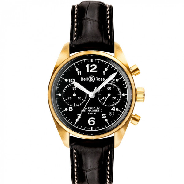 Bell & Ross watches VINTAGE 126 GOLD BLACK