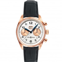 Bell & Ross watches VINTAGE 126 PINK GOLD BIG DATE