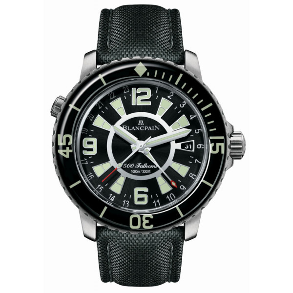 Blancpain watches 500 Fathoms GMT