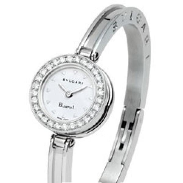 Bvlgari Bvlgari B.zero1 Steel Diamond Bangle Ladies Watch