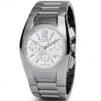 Bvlgari Bvlgari Ergon White Chronograph Steel Mens Watch
