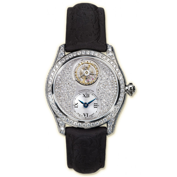 Glashutte Original Lady Serenade Tourbillon (WG Diamonds Leather)