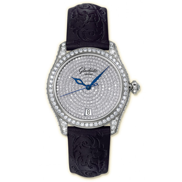 Glashutte Original Lady Serenade Pavee (WG_Diamonds Satin)