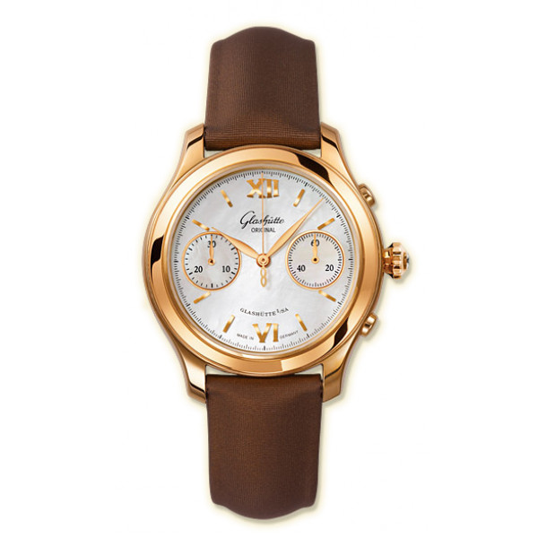 Glashutte Original Lady Serenade Chronograph (RG MOP Satin)