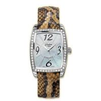 Glashutte Original Lady Serenade Karree (SS_Diamonds MOP Leather)