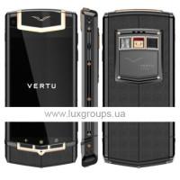 Vertu Ti  Titanium PVD Red Gold Details