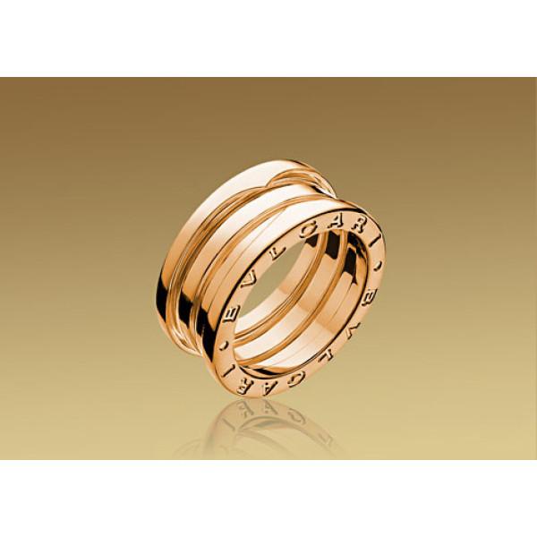 Кольцо Bulgari B.Zero1, розовое золото