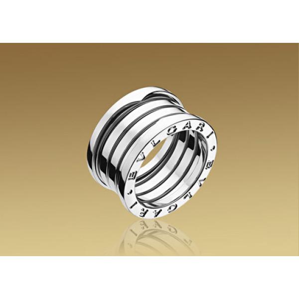 Кольцо Bulgari B.Zero1, белое золото