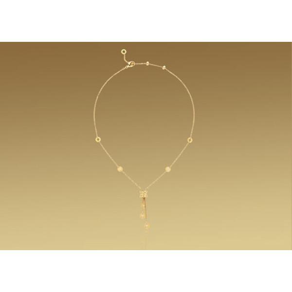 Ожерелье Bulgari B.Zero1, желтое золото, бриллианты