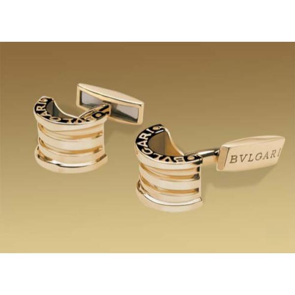 Запонки Bulgari B.Zero1, желтое золото