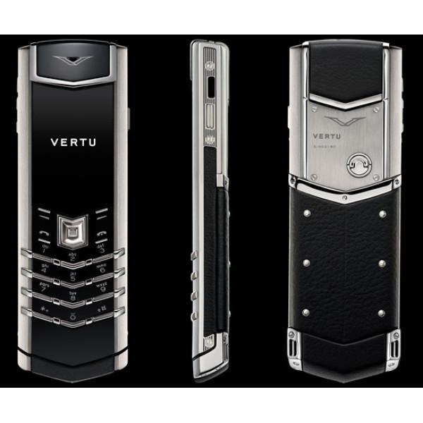 Vertu Signature S Design Steel Black