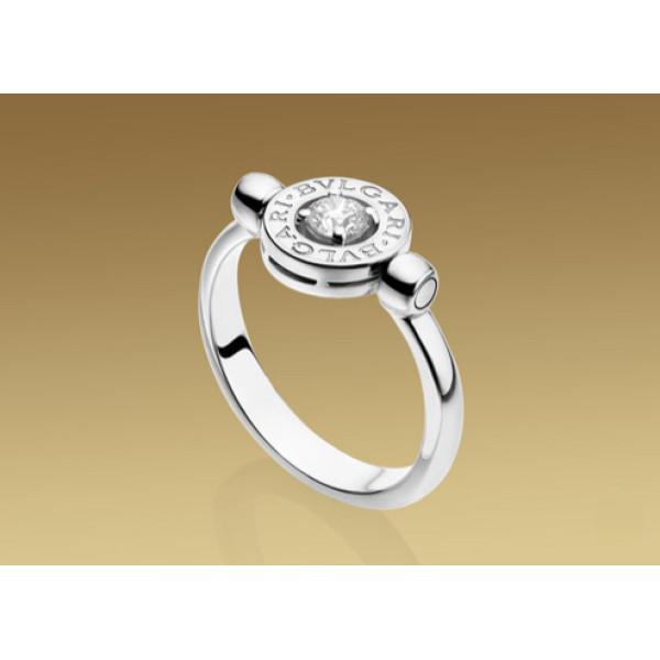 Кольцо Bulgari Bulgari белое золото, бриллиант