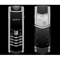 Vertu Signature S Design White Gold Full Diamond