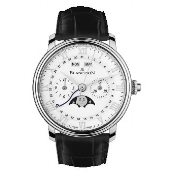 Blancpain watches Chronograph Monopusher Complete Calendar Moon Phases