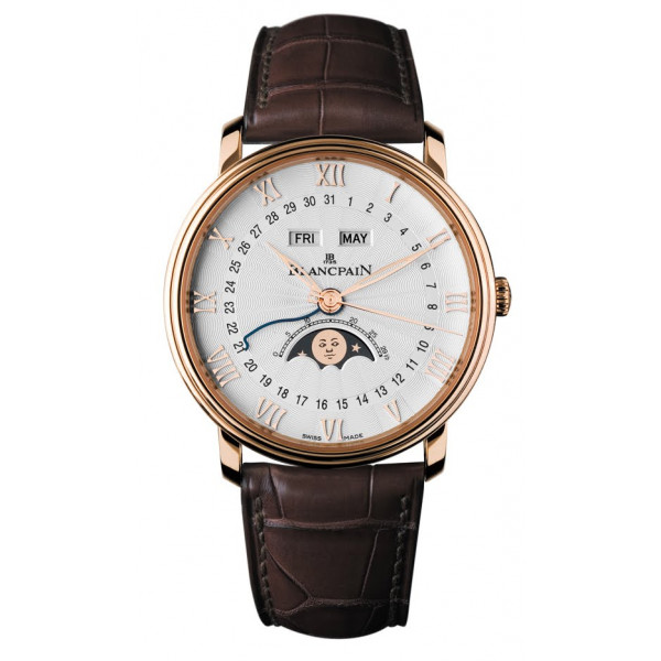 Blancpain watches `Re-imagined` Villeret Moon Phase