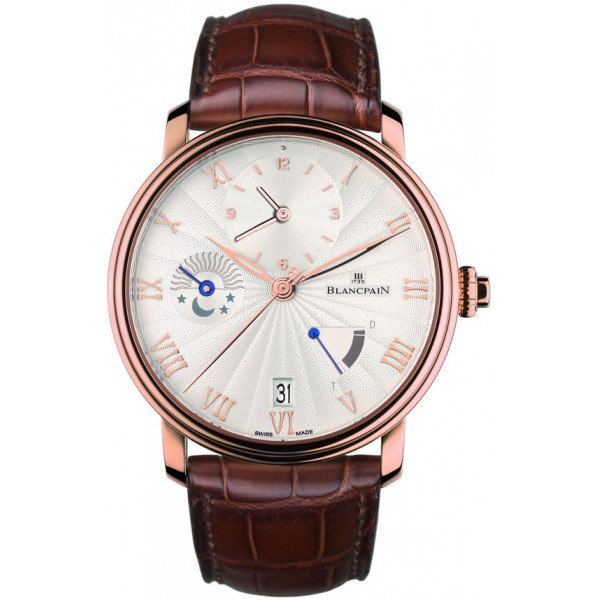 Blancpain watches Villeret Half Time Zone Watch