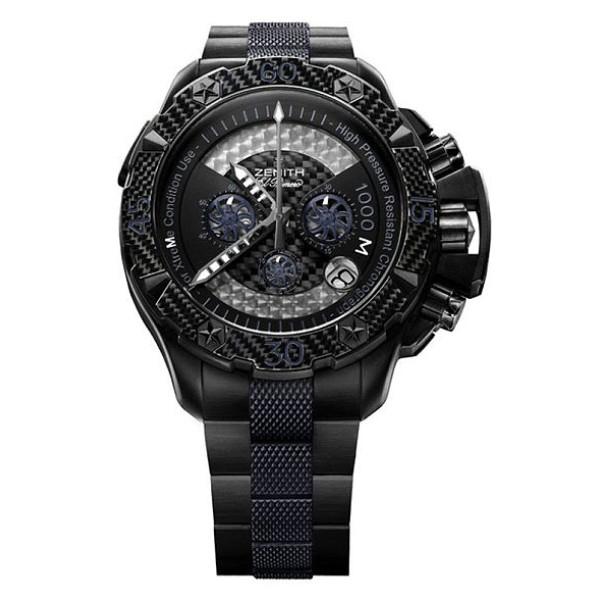 Zenith Defy Xtreme Sea Chronograph (Black Ti / Black / Black Ti)