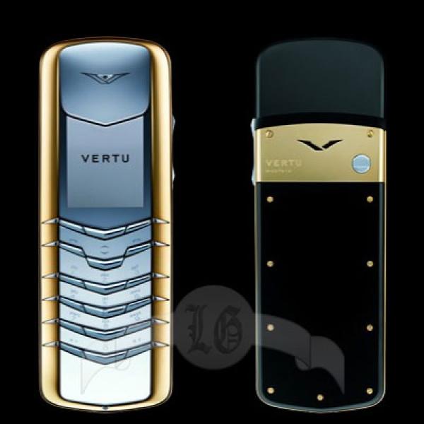 Vertu Signature Сталь, жёлтый металл