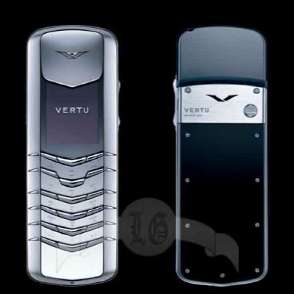 Vertu Signature Сталь двух оттенков