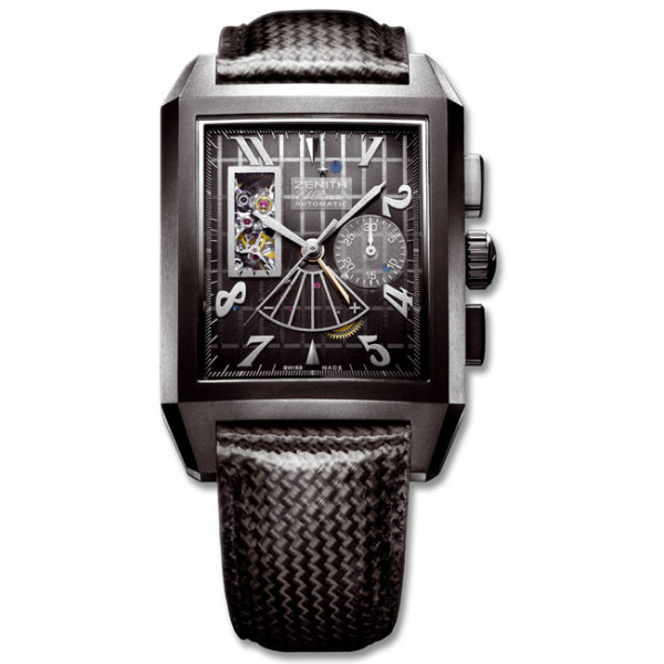Zenith Port Royal T Open Concept (Black Ti / Skeleton / Carbon Fiber)
