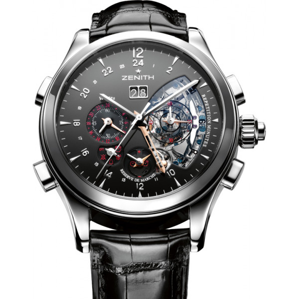 Zenith Traveller Minute Repeater Alarm Limited Edition
