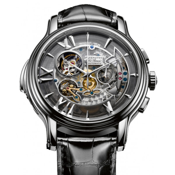 Zenith Open Minute Repeater