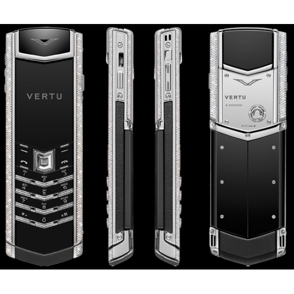 Vertu Signature S Design White Gold Diamonds