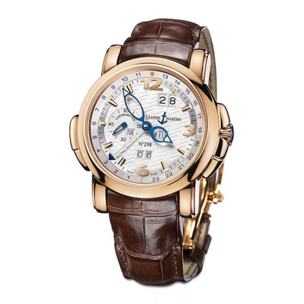 Ulysse Nardin GMT +/- Perpetual Calendar Limited (RG / White / Leather)
