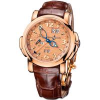 Ulysse Nardin GMT +/- Perpetual Calendar Limited (RG / Gold / Leather)