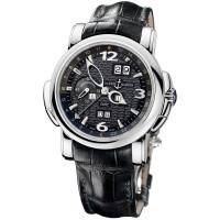 Ulysse Nardin GMT +/- Perpetual (WG / Black / Leather)