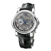 Ulysse Nardin GMT +/- Perpetual (WG / Grey / Leather)