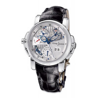 Ulysse Nardin Sonata Cathedral Dual Time (WG / White / Leather)