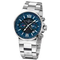Ulysse Nardin Maxi Marine Chronograph (Steel / Blue / Steel)