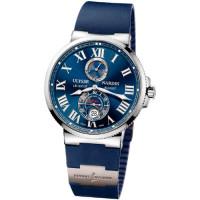 Ulysse Nardin Maxi Marine Chronometer 43mm (Steel / Blue / Rubber)