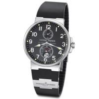 Ulysse Nardin Maxi Marine Chronometer (Steel / Black / Rubber)