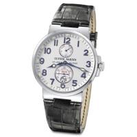 Ulysse Nardin Maxi Marine Chronometer (Steel / Silver / Leather)