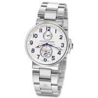 Ulysse Nardin Maxi Marine Chronometer (Steel / Silver / Steel)
