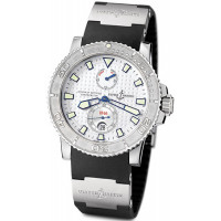 Ulysse Nardin Maxi Marine Diver Chronometer (Steel / White / Rubber)