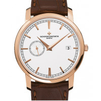 Vacheron Constantin Patrimony Traditionnelle Self-Winding (RG / Silver / Leather)