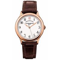 Vacheron Constantin Chronometre Royal 1907 (RG / White / Leather)