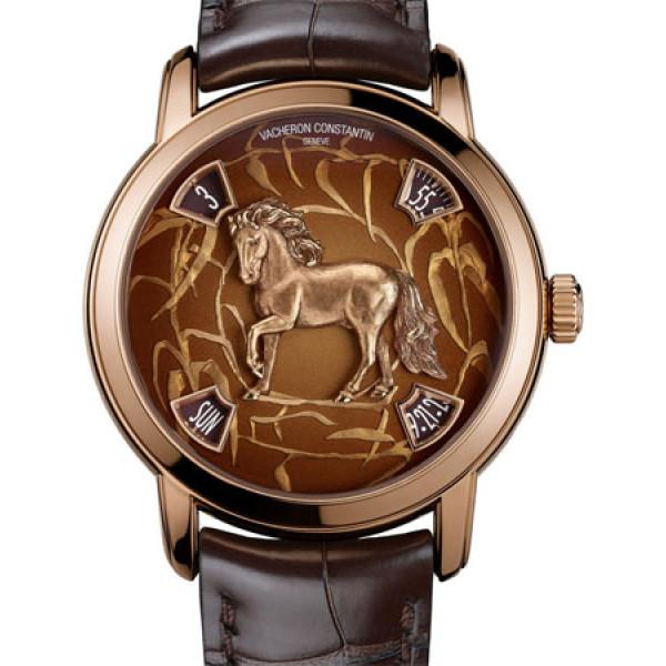 Vacheron Constantin Metiers DArt Year of the Horse Rose Gold 2014